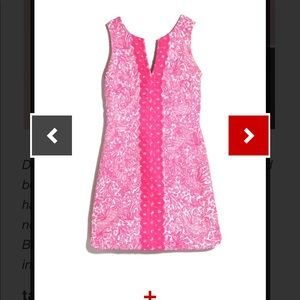 Lilly Pulitzer for target pink embroidered dress